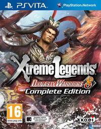 Portada oficial de Dynasty Warriors 8: Xtreme Legends para PSVITA