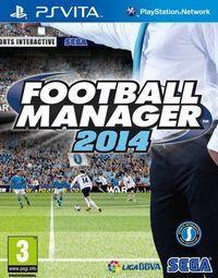 Portada oficial de Football Manager Classic 2014 para PSVITA