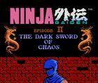 Portada oficial de Ninja Gaiden II: The Dark Sword of Chaos CV para Nintendo 3DS