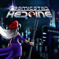 Portada oficial de Cosmic Star Heroine para PS4