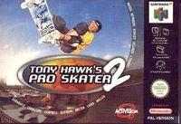 Portada oficial de Tony Hawk's Pro Skater 2 para Nintendo 64