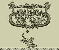 Portada oficial de Pinball: Revenge of the Gator CV para Nintendo 3DS