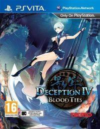 Portada oficial de Deception IV: Blood Ties para PSVITA