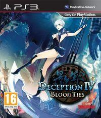 Portada oficial de Deception IV: Blood Ties para PS3