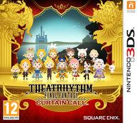 Portada oficial de Theatrhythm Final Fantasy: Curtain Call para Nintendo 3DS