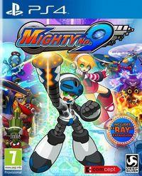 Portada oficial de Mighty No. 9 para PS4