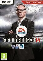 Portada oficial de FIFA Manager 14 para PC