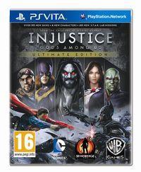 Portada oficial de Injustice: Gods Among Us Ultimate Edition para PSVITA