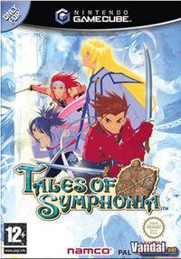 Portada oficial de Tales of Symphonia para GameCube