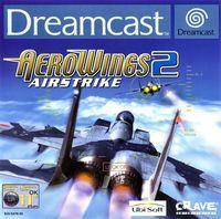 Portada oficial de Aerowings 2: Air Strike para Dreamcast