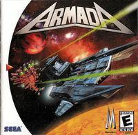 Portada oficial de Armada para Dreamcast