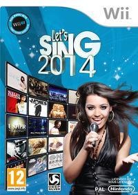 Portada oficial de Let's Sing 2014 para Wii