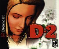 Portada oficial de D2 para Dreamcast