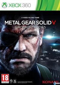 Portada oficial de Metal Gear Solid V: Ground Zeroes para Xbox 360