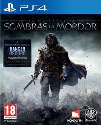 Portada oficial de La Tierra Media: Sombras de Mordor para PS4