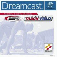 Portada oficial de ESPN International Track & Field para Dreamcast