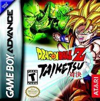 Portada oficial de Dragon Ball Z: Taiketsu para Game Boy Advance