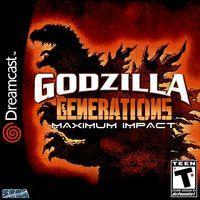 Portada oficial de Godzilla Generations Maximum Impact para Dreamcast