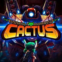 Portada oficial de Assault Android Cactus para PS4