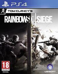 Portada oficial de Tom Clancy's Rainbow Six Siege para PS4