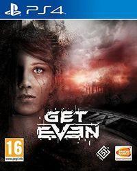 Portada oficial de Get Even para PS4