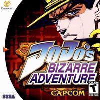 Portada oficial de Jojo's Bizarre Adventure para Dreamcast