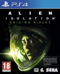 Portada oficial de Alien: Isolation para PS4