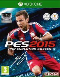 Portada oficial de Pro Evolution Soccer 2015 para Xbox One