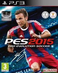 Portada oficial de Pro Evolution Soccer 2015 para PS3