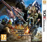 Portada oficial de Monster Hunter 4 Ultimate para Nintendo 3DS