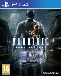 Portada oficial de Murdered: Soul Suspect para PS4