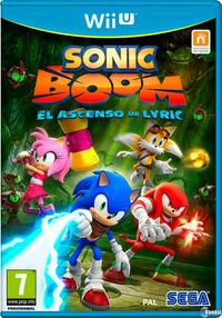 Portada oficial de Sonic Boom: El Ascenso de Lyric para Wii U