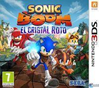 Portada oficial de Sonic Boom: El Cristal Roto para Nintendo 3DS