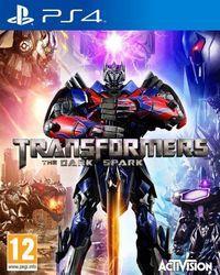 Portada oficial de Transformers: Rise of the Dark Spark para PS4