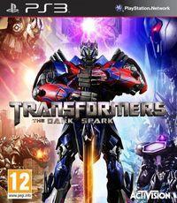 Portada oficial de Transformers: Rise of the Dark Spark para PS3