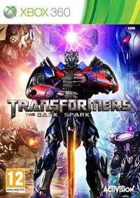Portada oficial de Transformers: Rise of the Dark Spark para Xbox 360