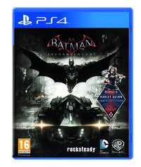 Portada oficial de Batman: Arkham Knight para PS4