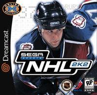 Portada oficial de NHL 2K2 para Dreamcast