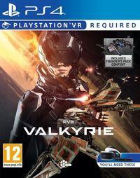 Portada oficial de EVE: Valkyrie para PS4