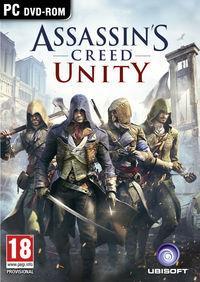 Portada oficial de Assassin's Creed Unity para PC
