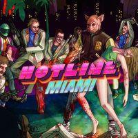 Portada oficial de Hotline Miami para PS4
