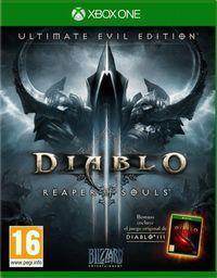 Portada oficial de Diablo III: Reaper of Souls – Ultimate Evil Edition para Xbox One