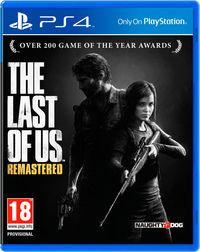 Portada oficial de The Last of Us Remasterizado para PS4