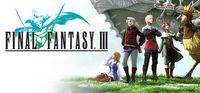 Portada oficial de Final Fantasy III para PC
