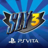 Portada oficial de Sly 3: Honor entre ladrones HD PSN para PSVITA