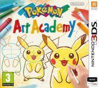 Portada oficial de Pokémon Art Academy para Nintendo 3DS