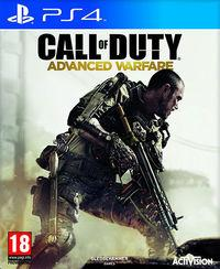 Portada oficial de Call of Duty: Advanced Warfare para PS4