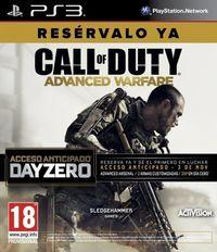 Portada oficial de Call of Duty: Advanced Warfare para PS3