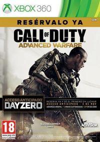 Portada oficial de Call of Duty: Advanced Warfare para Xbox 360