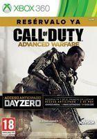 Portada oficial de de Call of Duty: Advanced Warfare para Xbox 360